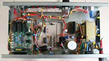 Remote antenne switch control unit