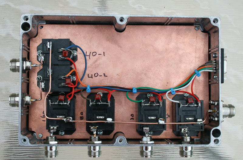 VK2GWK Home Pages - Homebrew projects - Automatic Antenna Switch
